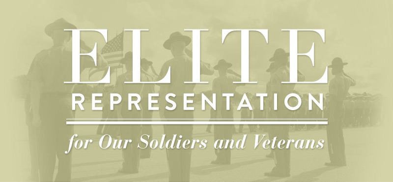 military lawyer and military law firm